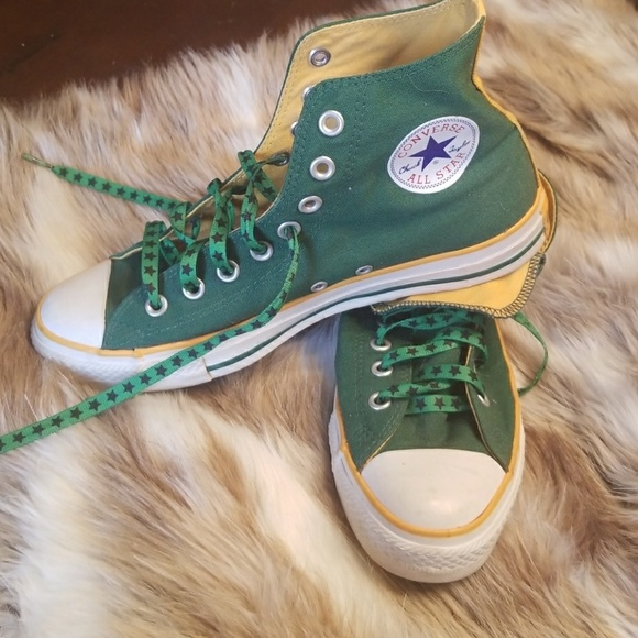 a694b5b9 CONVERSE ALL STAR CHUCK TAYLORS GREEN BAY PACKERS